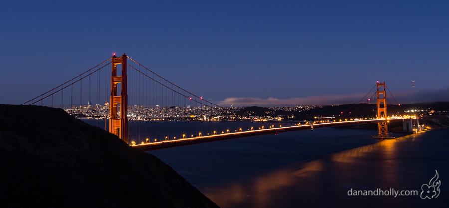 POTW: The Golden Gate Bridge in Late Evening
