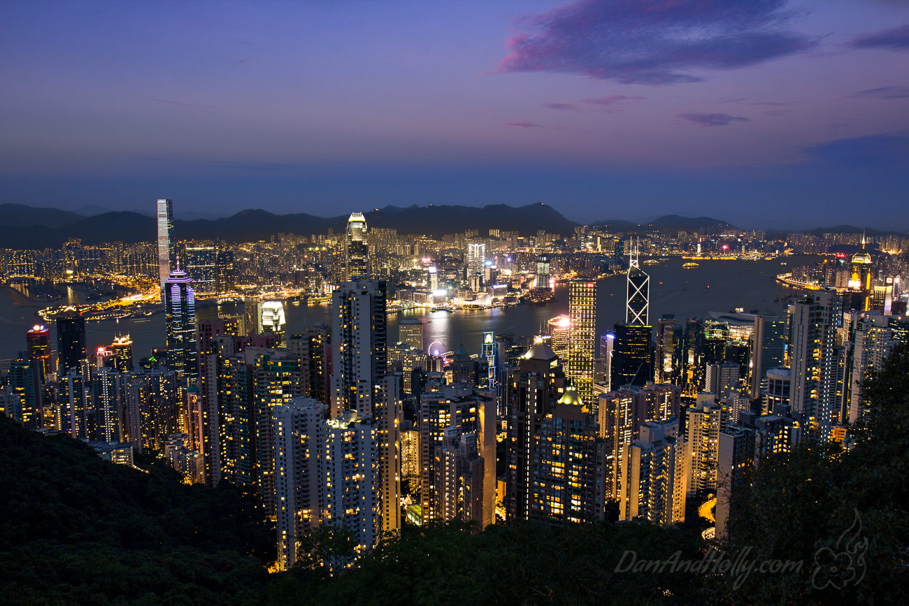 Hong Kong's Victoria Peak – The picture I broke my foot for