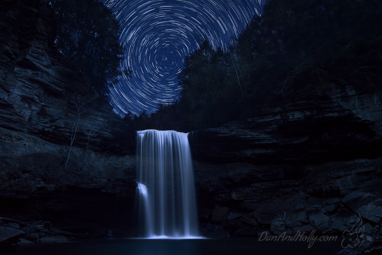 Stars Over Greeter Falls